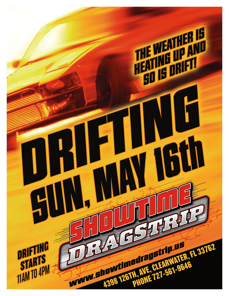 DRIFTING FLYER MAY 16.