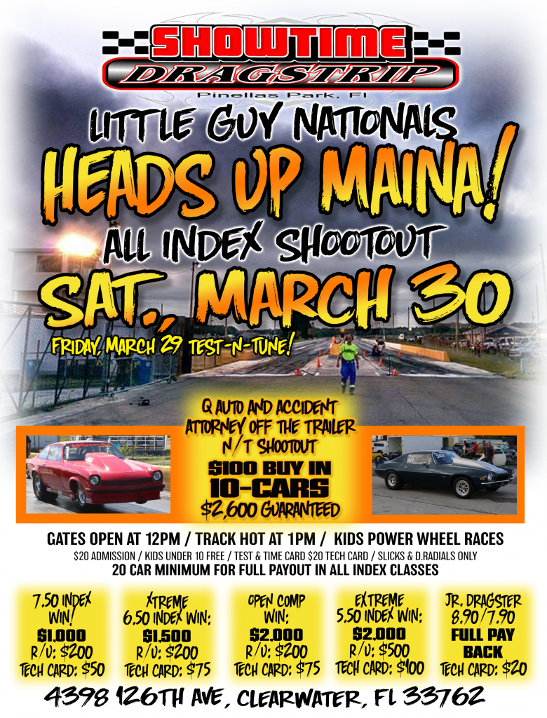 MARCH 30 FLYER
